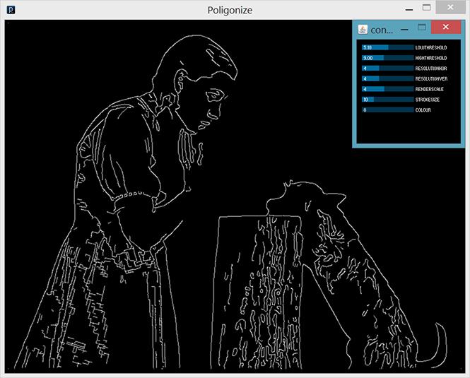 polygonize edit window